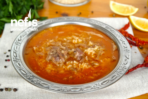 Beyran Çorbası (Yöresel) (videolu) Tarifi