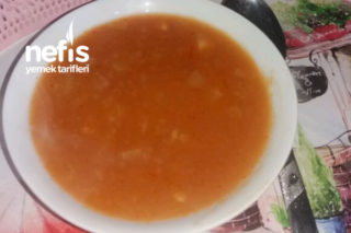 Şifa Çorbası (Kızılcık Tarhanası) Tarifi