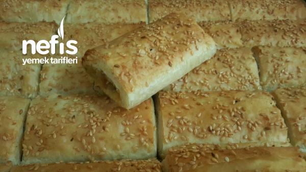 Baklavalık Yufkayla Patatesli Börek