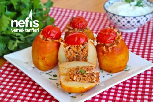 Patates Dolması Yapımı (videolu) Tarifi