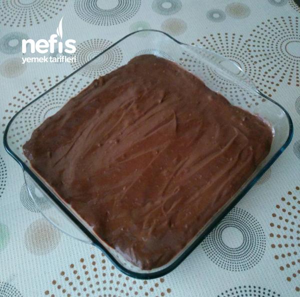 Borcamda Pişmeden Çikolatalı Cheesecake