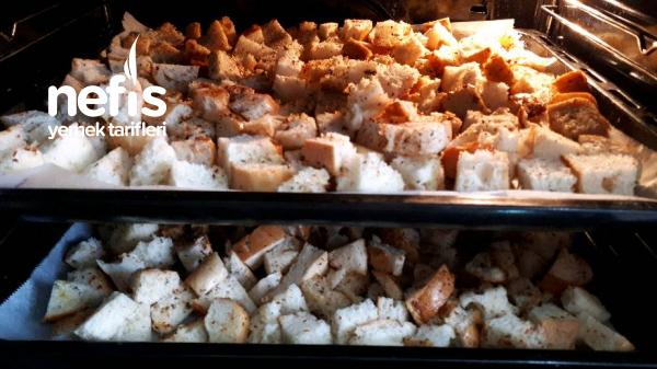 Çeşnili Kruton (Kıtır Ekmek)