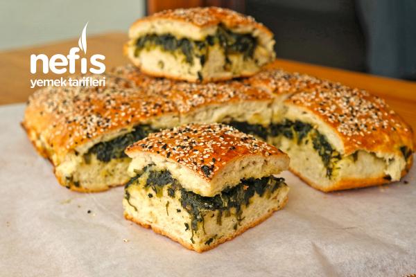 Ispanaklı Ekmek (Poğaça Yöresel)