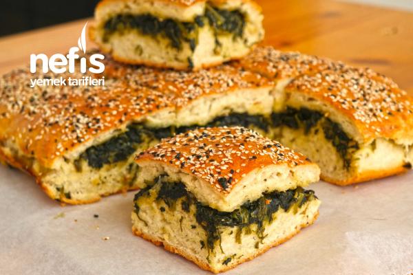 Ispanaklı Ekmek (Poğaça Yöresel) (Videolu) Tarifi