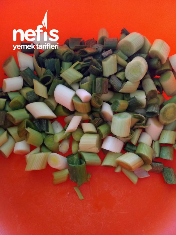 Pirinçli Pırasa Yemeği ( Tam Kıvamında )