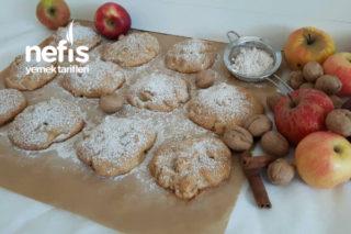 Elmalı Cevizli Porsiyonluk Kek Tarifi