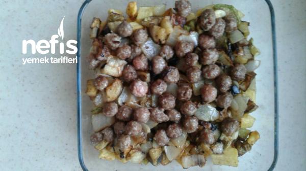 Fırında Sebzeli Köfte (Çok Bereketli)