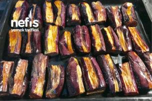 Karnıyarıklık Kızartılmış Patlıcan ( Buzluk İçin ) Tarifi