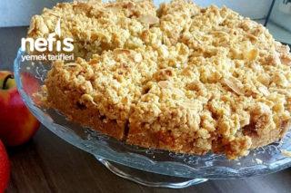 Elma Kırıntılı Kek Tarifi