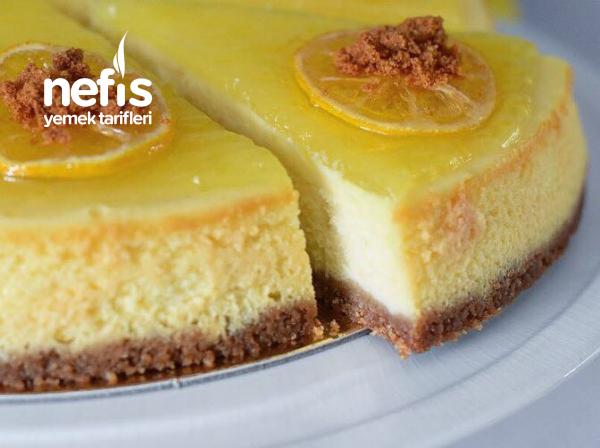 Limonlu Mükemmel Cheesecake (yapım Aşamalı)