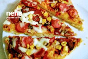 Ev Yapımı Karışık Nefis Pizza Tarifi