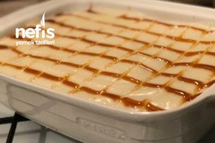 Karamelli Kedidili Pastası Tarifi