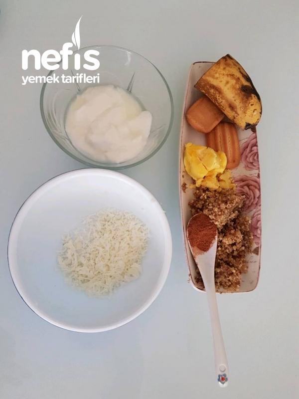 Muzlu Tarçınlı Bebek Kahvaltısı 8+ay