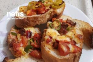Şipşak Ekmek Pizzası Tarifi