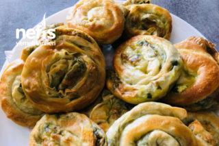 Ispanaklı Börek (El Açması) Tarifi