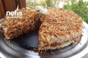 Muhallebili Kadayıf Pastası Tarifi