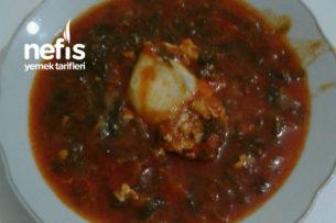 Eşkili Yemeği (Ispanaklı) Tarifi
