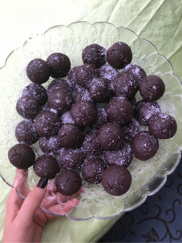 Kakaolu Islak Kurabiye(enfes)