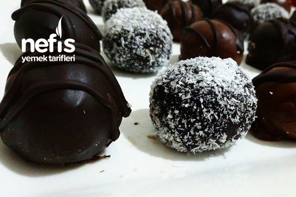 Muzlu Çikolata Topları