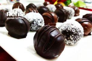 Muzlu Çikolata Topları Tarifi