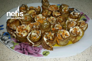 Patlıcan Rulosu Tarifi