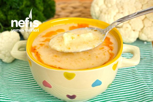 Karnabahar Çorbası (videolu) Tarifi