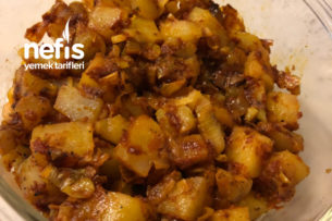 Pırasalı Patates Kavurması Tarifi