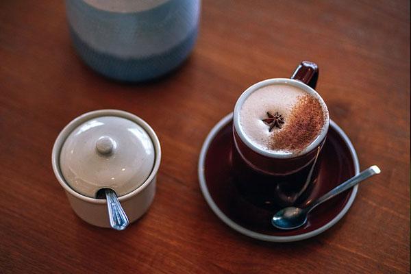 chai tea latte yapımı
