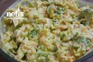 Enfes Karnabahar Brokoli Salatası Tarifi
