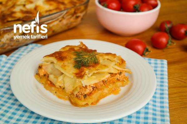 Patates Lazanya