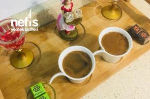 Türk Kahvesi (Maden Su Ve Çikolatalı) Tarifi