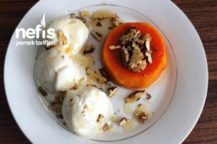 Bal Kabağı Tatlısı Ve Ev Usulü Dondurma Tarifi