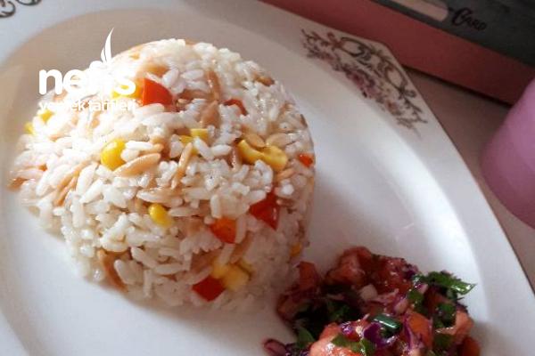 Kapya Biber Ve Mısırlı Pirinç Pilavı Tarifi