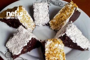 Kremalı Kakaolu Üçgen Pasta Tarifi
