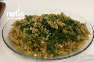 Pesto Sosunda Makarna Tarifi