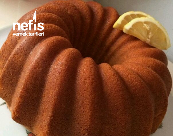 Mis Gibi Kokan Sütsüz Limonlu Kek