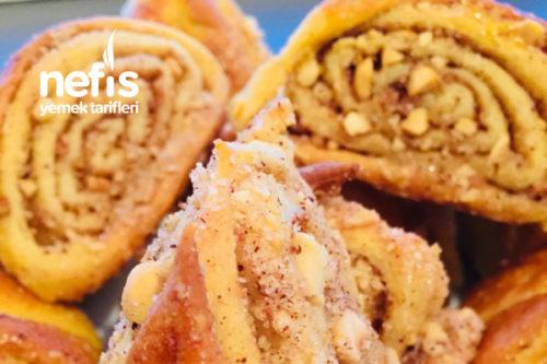 Fındıklı Tarçınlı Çörek Tarifi Videosu
