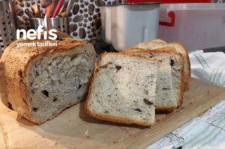Makinede Zeytinli Çekirdekli Ekmek Yapımı Tarifi
