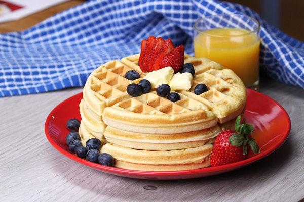 bir waffle kaç kalori