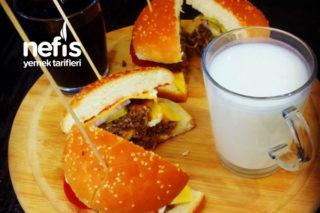 Evde Nusret Hamburger Tarifi