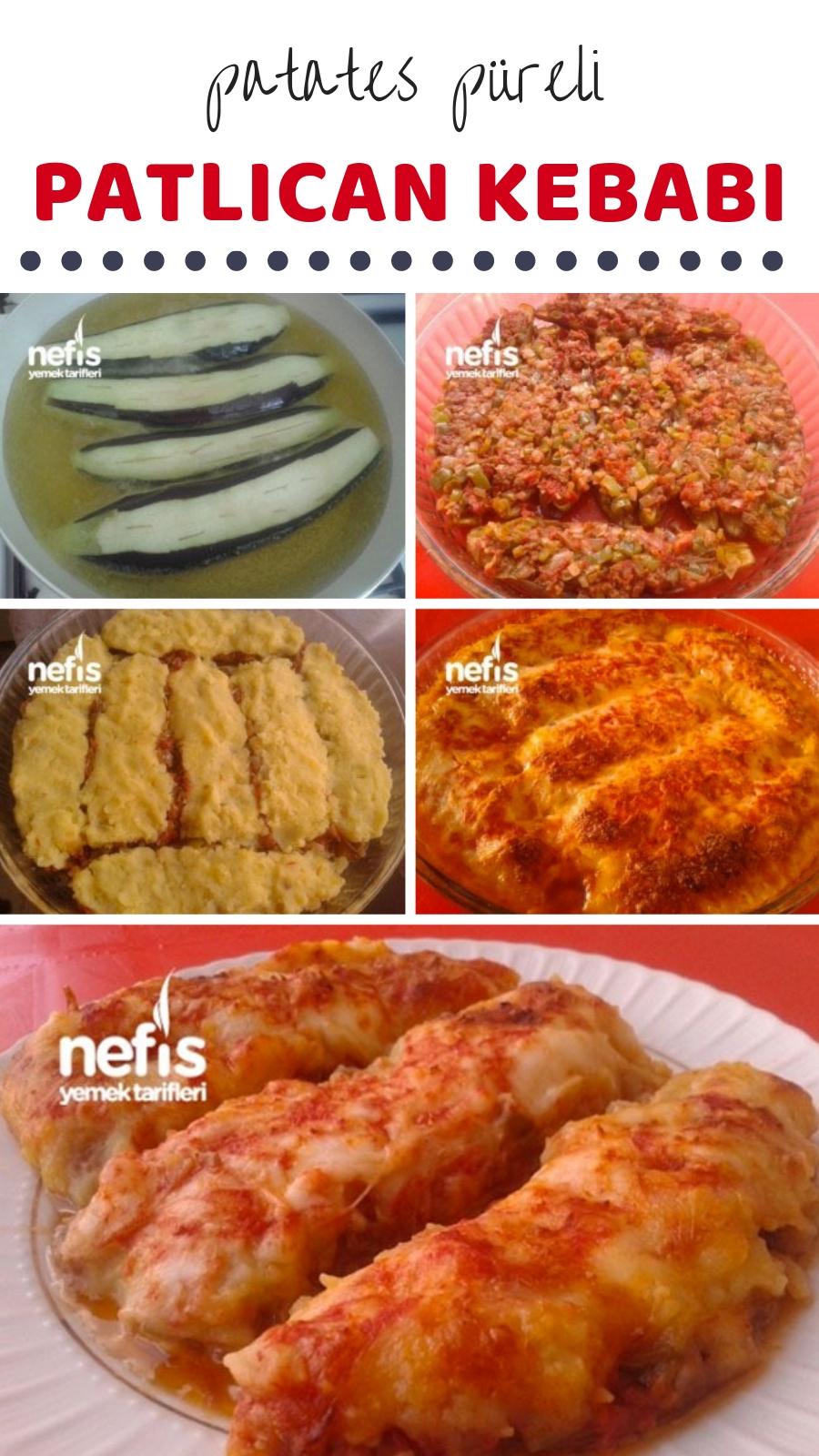 Patlıcan Kebabı Tarifi – Ana Yemek Tarifleri