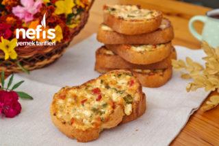 Peynirli Ekmek Dilimleri (videolu) Tarifi