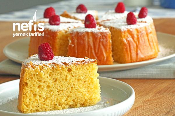 Yumuşacık Nemli Kek Yapımı (videolu)