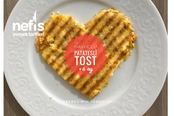 Havuçlu Patates Tostu Tarifi