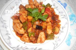 Havuçlu Patlıcanlı Patetesli Tavuk Sote Tarifi