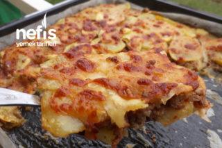 Parmak Yedirten Kıymalı Patates Lazanya Tarifi
