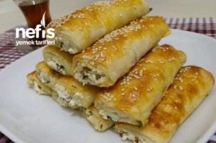 Sosu Unlu Çıtır Peynirli Börek Tarifim