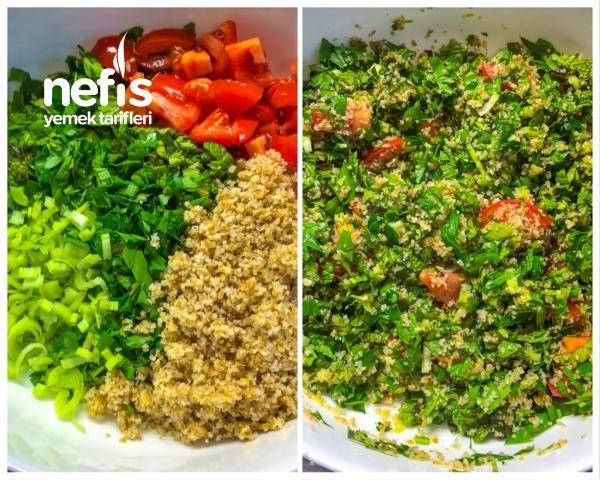 Etli Tabule Salatası