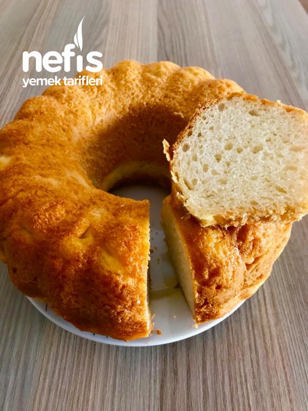 Kek Kalıbında Zeytinyağlı Kahvaltılık Ekmek