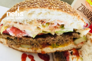 Nefis Ev Hamburgeri Tarifi